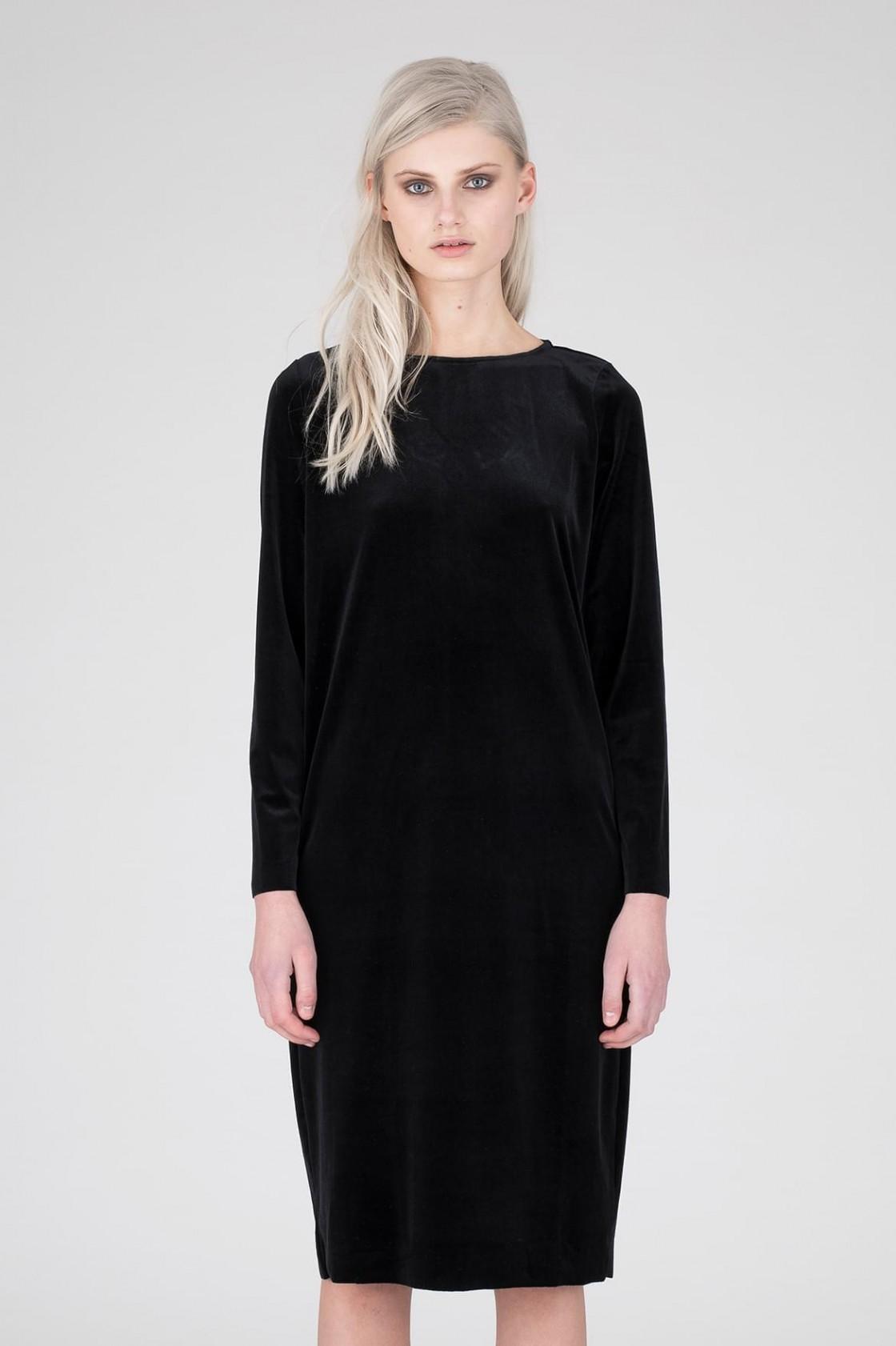Vestidos negro terciopelo