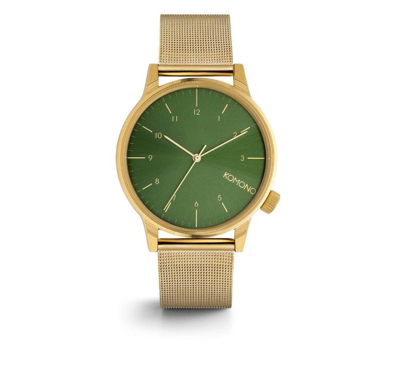Komono Reloj Gold Winston Royale Green w0On8vmN