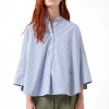 Camisa Loreak Oversize azul
